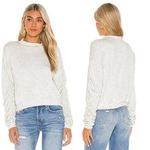 LNA Panama Sweatshirt Ash REVOLVE Women's XS NWOT